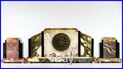 1930 French Art Deco Mantel Clock