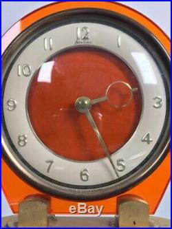 1930s Bentima clock lucite Art Deco antique vintage original