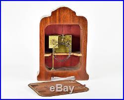 ART DECO LENZKIRCH Tischuhr Uhr pendule vintage table clock antike Kaminuhr