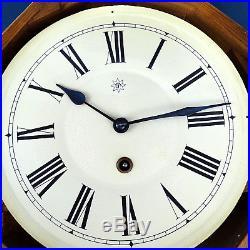 Alte JUNGHANS Wanduhr Pendeluhr Art Deco 20er 30er 40er Antique Wall Clock