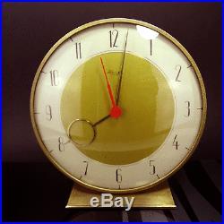 Alte Kienzle Tisch Uhr Art Deco Heinrich Möller Ära Desk Clock 30er 50er Jahre