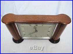 Antique Art Deco Elliott Mantle Clock. Made in England. Gorgeous & Beautiful