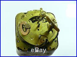 Antique Duverdrey & Bloquel Bayard Alarm Clock Art Deco