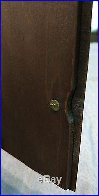 Antique Seth Thomas Flame mahogany art-deco mantle/ desk/ shelf clock running