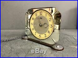 Antique Smiths Sectric Art Deco Mantel Clock Stunning And Immaculate