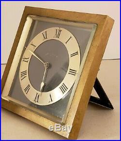 Antique Working 1930 CHELSEA Bronze Art Deco Mantel Clock Black, Starr & Frost