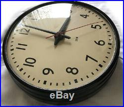 Art Deco 1947 Vintage IBM Electric School Clock 14