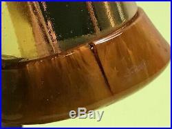Art Deco Era Butterscotch Amber Bakelite Catalin Hourglass Sand Clock Germany