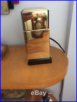 Art Deco Frankel Clock 1928. 6x8. Reconditioned Brass. Great condition