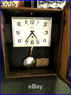 Art Deco French Cafe Clock