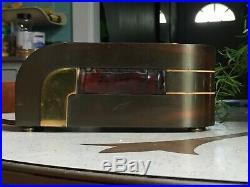 Art Deco Kem Weber Designed Lawson New Yorker Electric Mantel Clock Style 304