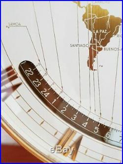 Art Deco Kienzle Weltzeituhr Handaufzug Messing Frühes Model