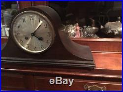 Art Deco Mantle Clock Strike 8 Day Working