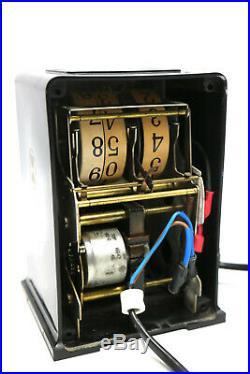 Art Deco PAUL FRANKL Telechron Clock Digitaluhr 30er Jahre sehr Rar