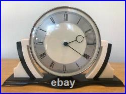 Art Deco Smiths Balelite Mantel Clock