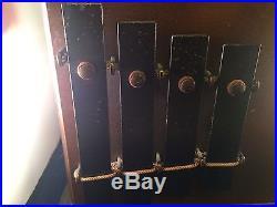 Art Deco Telechron & Kohler Liebich Liberty Chime Electric Clock Model 8011
