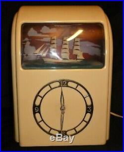 Art Deco Vitascope Electric Clock C1942