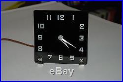 Art Deco Waltham Desk Clock, 1930