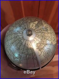 Art Deco globe clock beautiful bakelite and aluminum