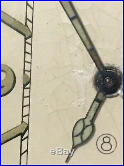 Art deco Jaeger LeCoultre 8-day Travel Alarm Clock Vintage. F. W. O
