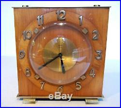 Bayard Art Deco / Arts and Crafts 8 Day Clock