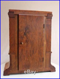 Beautiful Antique Junghans Art Deco Empire Table Mantle Clock