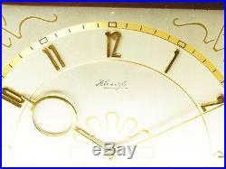 Beautiful Art Deco Design Desk Clock From Kienzle Germany