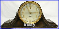 Bronze SANGAMO Mantel Clock PRESENTATION CROLL & KECK Art Deco 1928