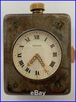 Cartier Minute Repeater French Art Deco Clock Paris European Watch & Clock E. W. C