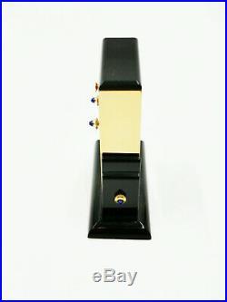 Cartier Paris Tisch-uhr Reisewecker Pendulette Basculante Art Deco Stil
