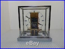 Chrome Art Deco Bauhaus Style Hatot Ato Clock