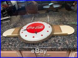 Coca-Cola Art Deco Kay Inc. Clock