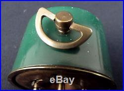 Duverdrey & Bloquel BAYARD clock alarm desk Art Deco design 1930's 6 cm x 6 cm