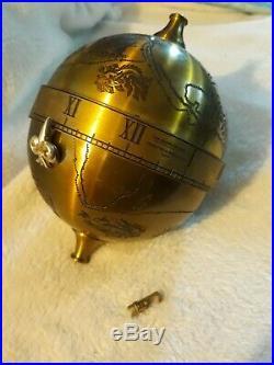 FRANKLIN MINT SIR FRANCIS DRAKE Falling Ball Clock Thwaites & Reed