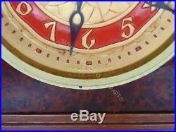 French Art Deco Ato Mantel Clock By Leon Hatot