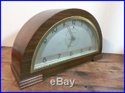General Electric Model 372 Hanover Westminster Chime Art Deco Clock c. 1937