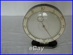 HEINRICH MOELLER ART DECO DESK CLOCK KIENZLE BRASS-12 Month warranty