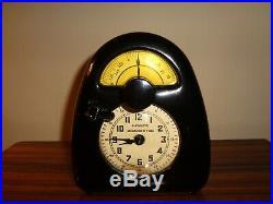 Hawkeye Bakelite Clock Timer Isamu Noguchi Japanese American Artist art deco