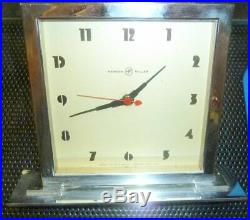 Herman Miller Desk Clock Mid Century Gilbert Rhode Art Deco Machine Age RARE