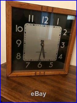 International Art Deco Slave Clock Mid 1900s