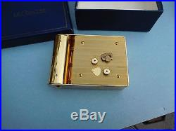 Jaeger Lecoultre Vintage Art Deco Travel Alarm Clock Memovox Runs Looks Perfect
