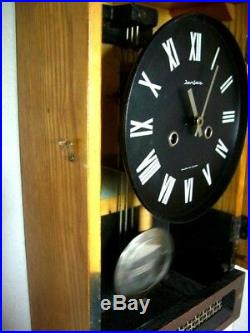 JANTAZ Russian USSR WALL Clock 1950s-ART DECO- Good Working Order