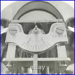 Jaeger-LeCoultre ATMOS vernickelt ca. Mitte 1950er Jahre Art Deco Design