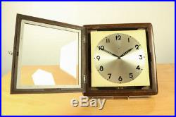 Junghans ATO Magnet Pendel Wand Uhr Art Deco