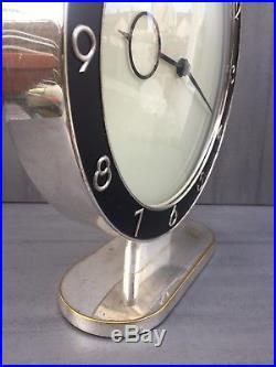 Kienzle Heinrich Möller Bauhaus Art Deco Uhr mechanisch 8 day Desing clock