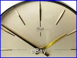 Later Art Deco Modernism Bauhaus Desk Clock Kienzle Automatic Germany