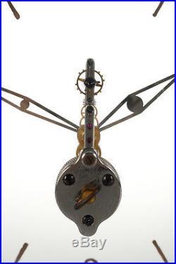 Lecoultre swiss -Rare 1930s art Deco 16 jewels mystery clock