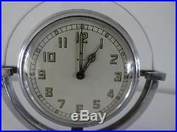 MACHINE AGE 1930s ART DECO CLOCK BY SMITHS