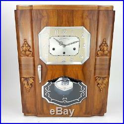 ODO 24 Nr 111 10/11 Gong Art Deco Westminster Ave Maria Wanduhr Regulator clock