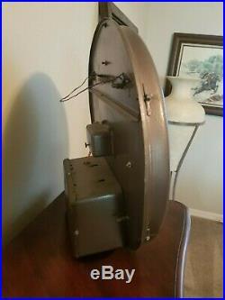 Orig Art Deco Vintage Sinclair NEON SIGN CLOCK W@W